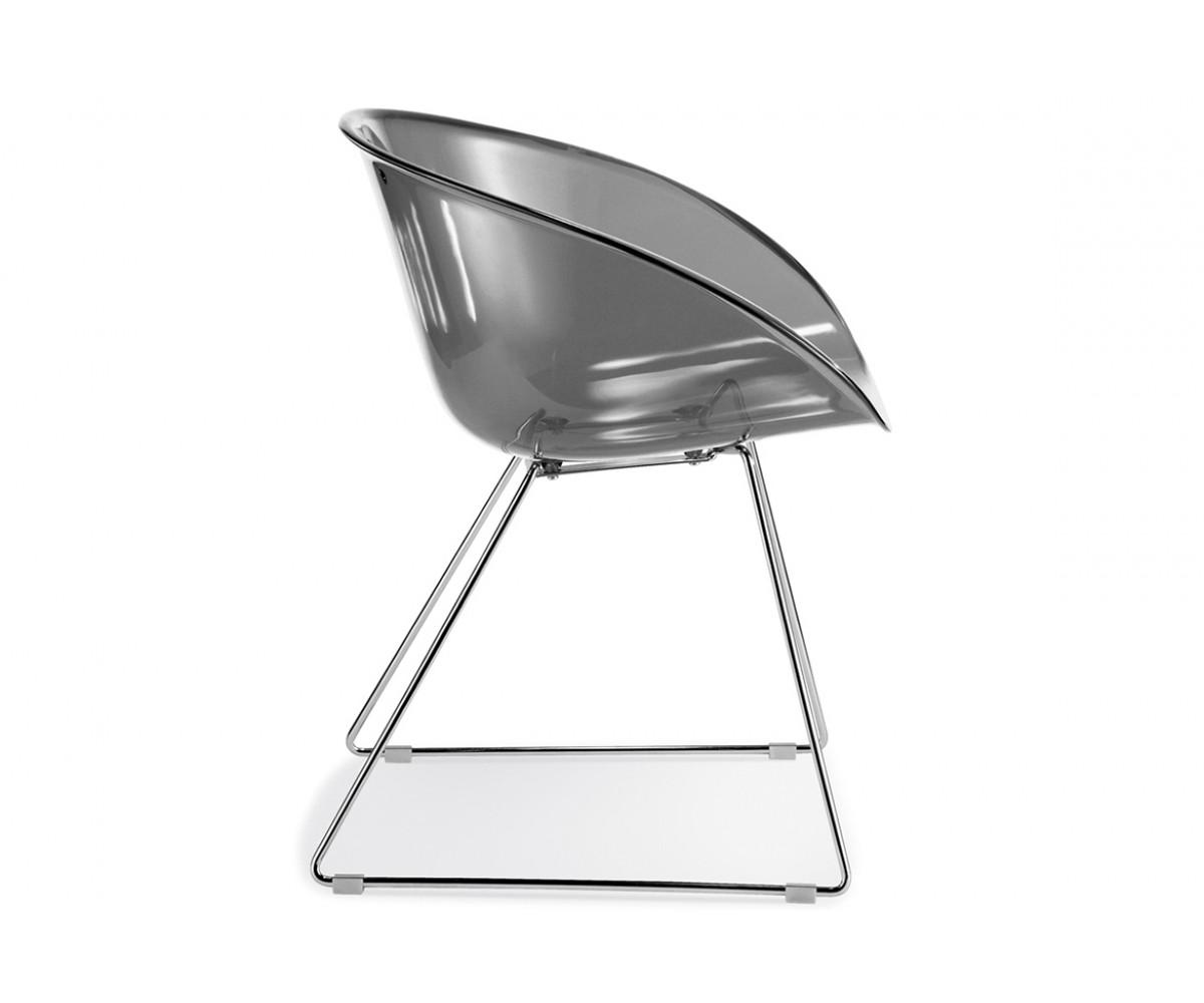 Konferenzstuhl grau  Stuhl Gliss Pedrali, Konferenzstuhl grau für Objekteinrichtung