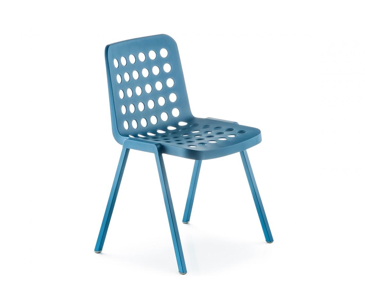 Gartenstuhl blau, Stuhl stapelbar blau