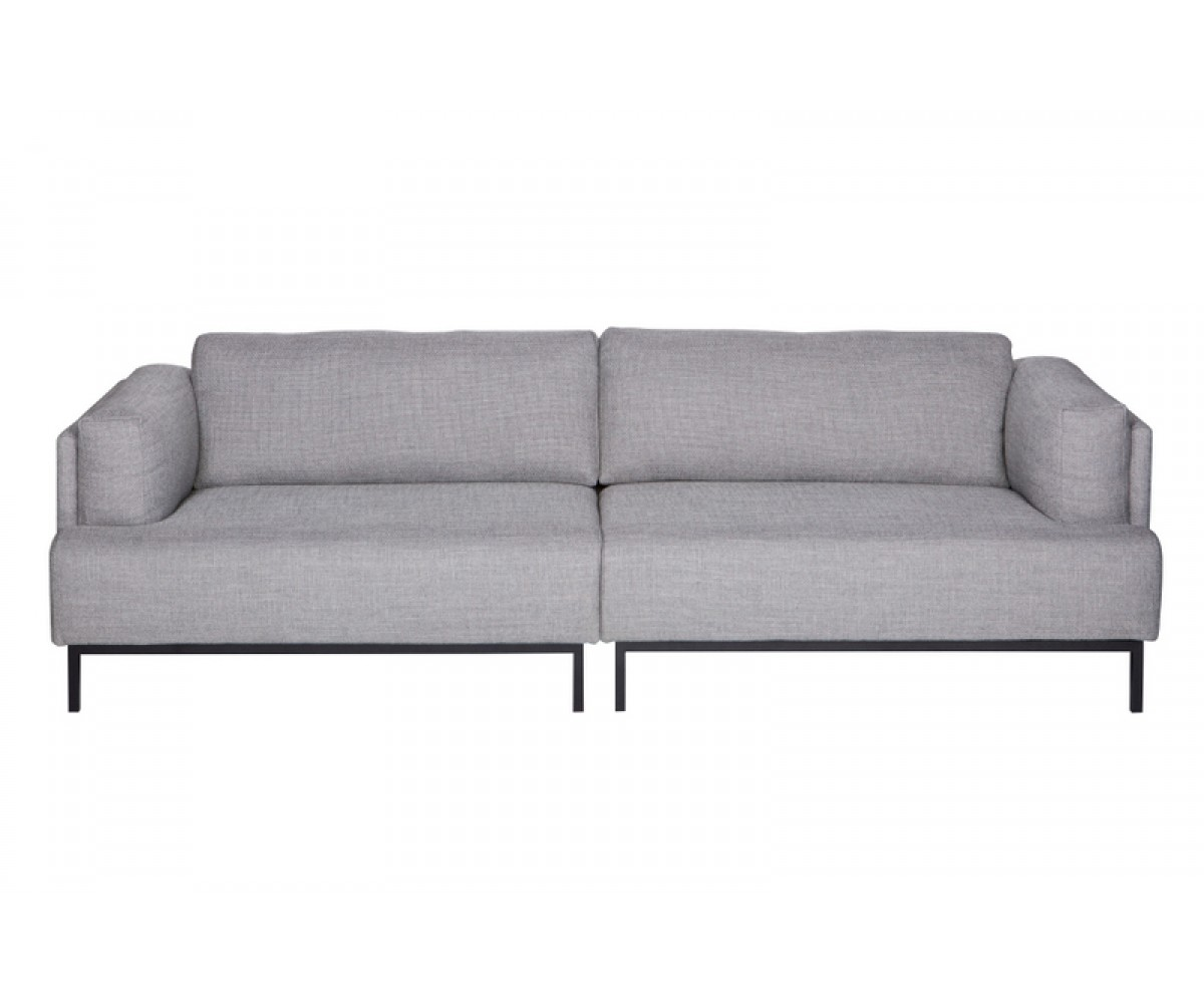 sofa 3 sitzer grau sofa modern grau breite 250 cm. Black Bedroom Furniture Sets. Home Design Ideas
