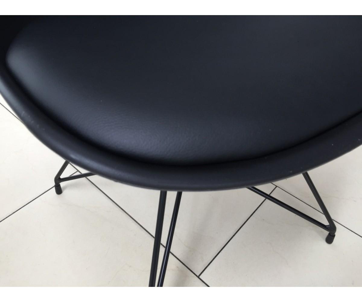 stuhl schwarz modern gepolstert stuhl gepolstert mit. Black Bedroom Furniture Sets. Home Design Ideas