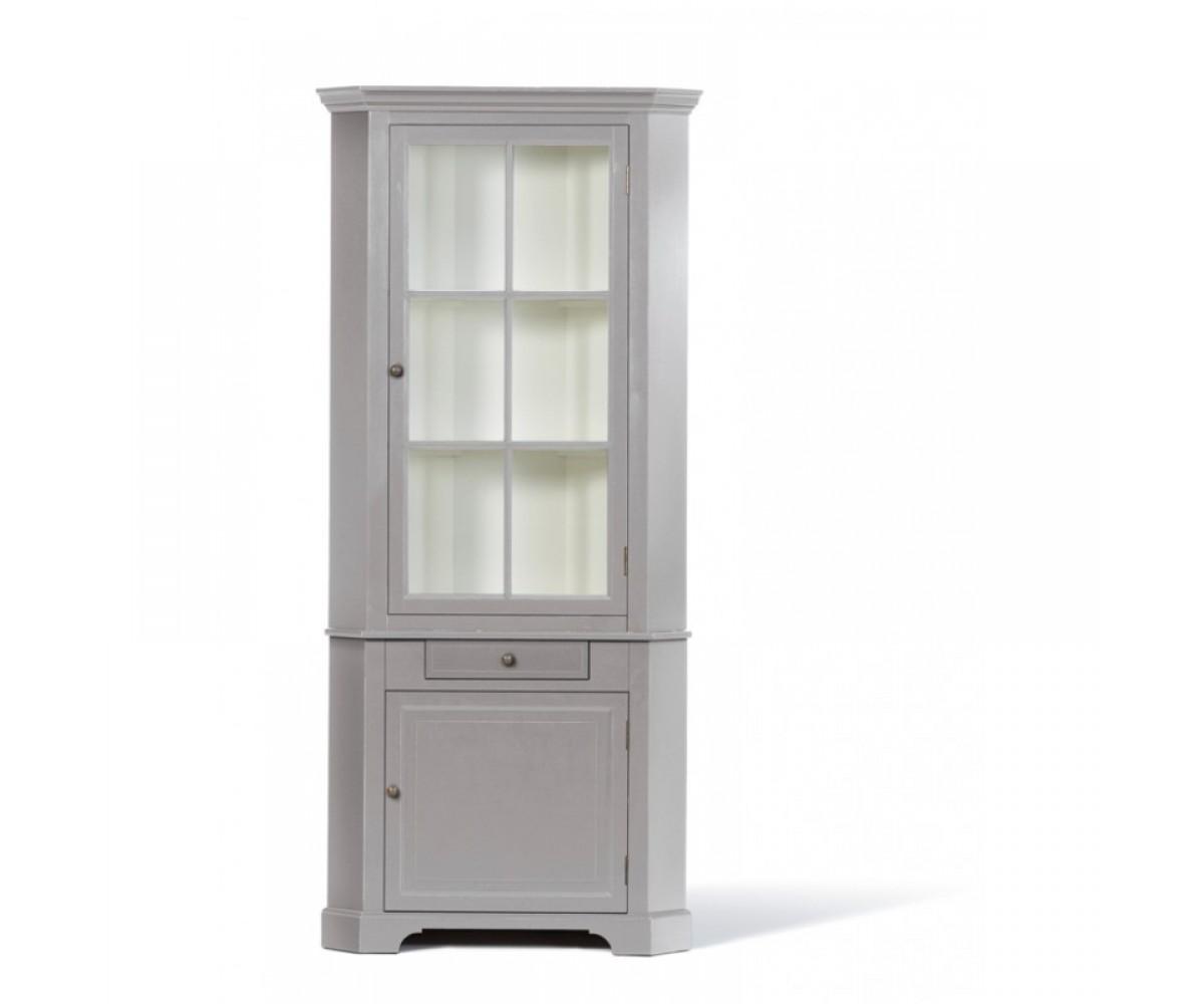 eckschrank grau massivholz eckschrank landhaus grau wei. Black Bedroom Furniture Sets. Home Design Ideas