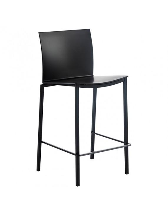 barstuhl stapelbar in verschiedenen farben sitzh he 65 cm. Black Bedroom Furniture Sets. Home Design Ideas