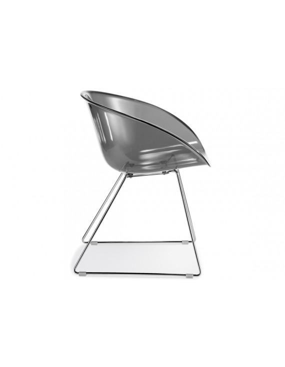 Konferenzstuhl grau  Gliss Pedrali, Konferenzstuhl grau für Objekteinrichtung