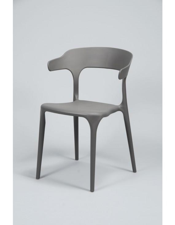 gartenstuhl grau stapelbar stuhl kunststoff grau. Black Bedroom Furniture Sets. Home Design Ideas