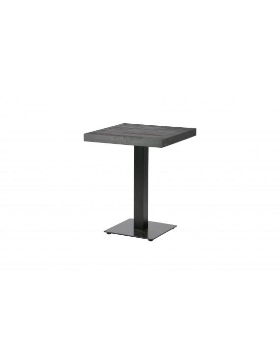 Bistrotisch schwarz kaffee tisch schwarz tisch mit for Tisch 60x60