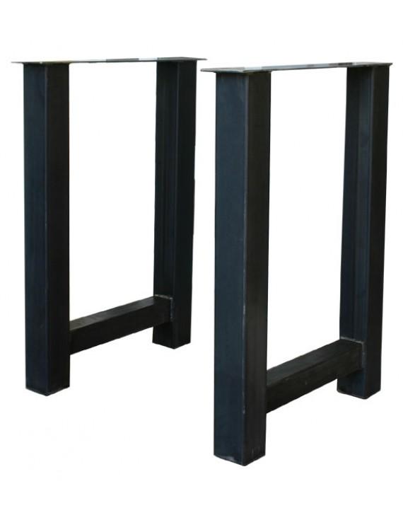 2er set bartisch gestell metall tischgestell bar metall stehtisch gestell metall h he 100 cm. Black Bedroom Furniture Sets. Home Design Ideas