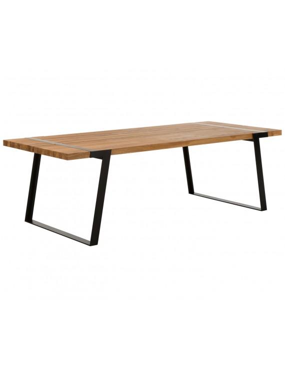 esstisch eiche natur tischplatte tisch eiche massiv. Black Bedroom Furniture Sets. Home Design Ideas