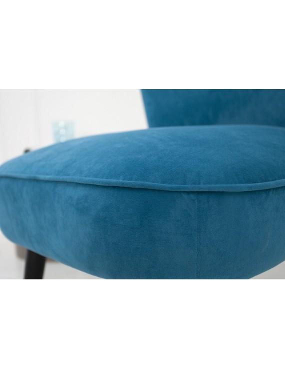 Sessel blau, Sessel Retro Style blau