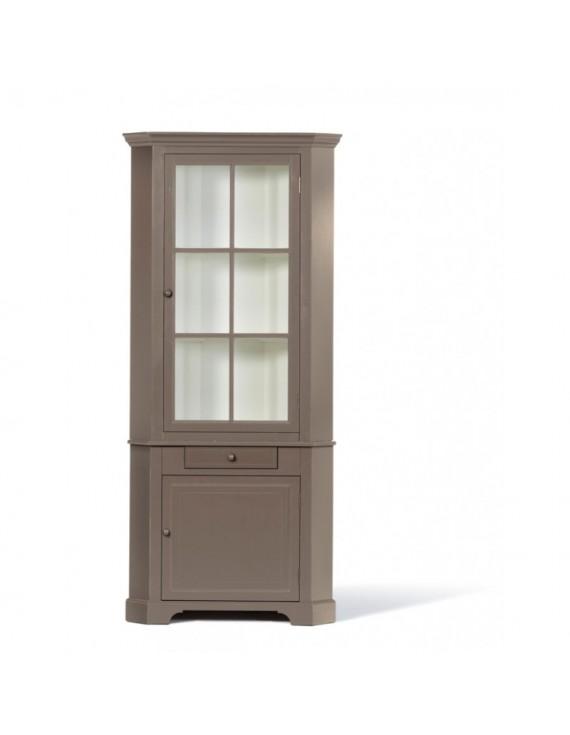 eckschrank taupe massivholz eckschrank landhaus taupe wei. Black Bedroom Furniture Sets. Home Design Ideas