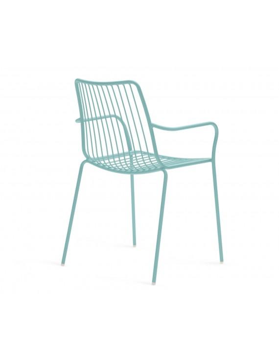 gartenstuhl azur blau mit armlehne metall stuhl azur blau metall mit armlehne gartenstuhl. Black Bedroom Furniture Sets. Home Design Ideas