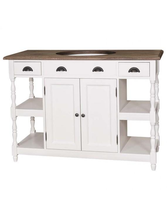 waschtisch wei landhaus waschtisch massivholz wei. Black Bedroom Furniture Sets. Home Design Ideas