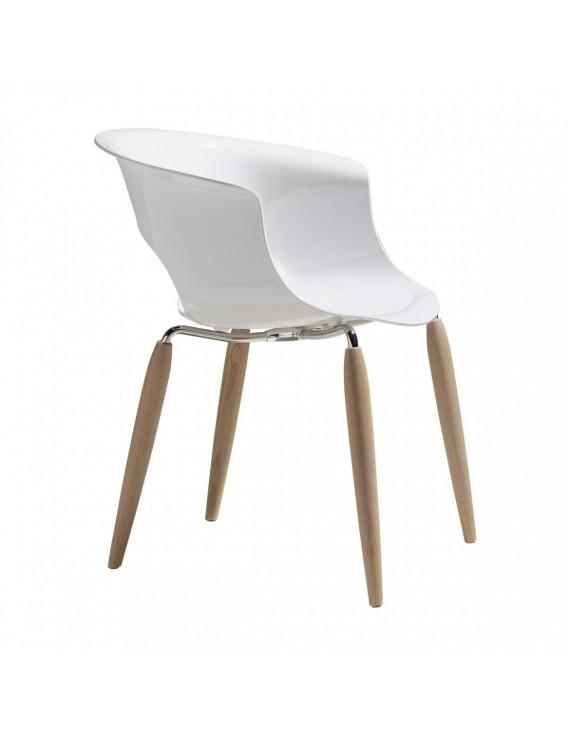 Kchenstuhl wei best free clp design retro stuhl borneo v for Vitra sessel nachbau