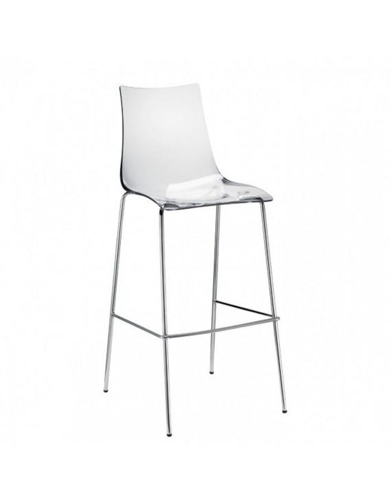barstuhl transparent sitzh he 65 cm. Black Bedroom Furniture Sets. Home Design Ideas