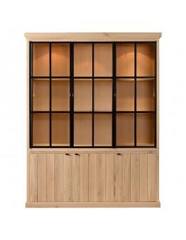 vitrinen und geschirrschr nke im landhausstil bei. Black Bedroom Furniture Sets. Home Design Ideas