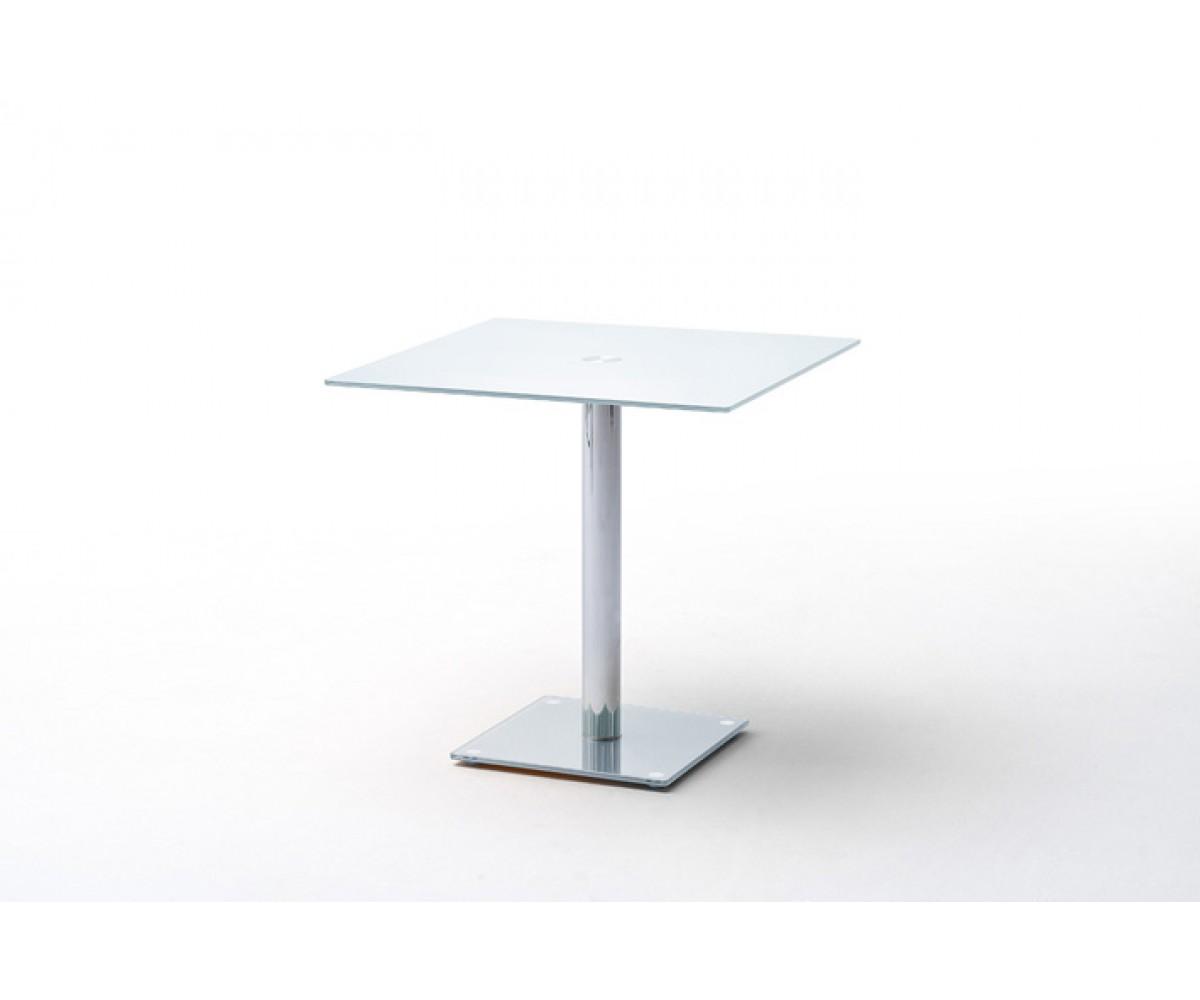 Tisch Glasplatte, Glastisch weiß, Bistrotisch Glasplatte weiß
