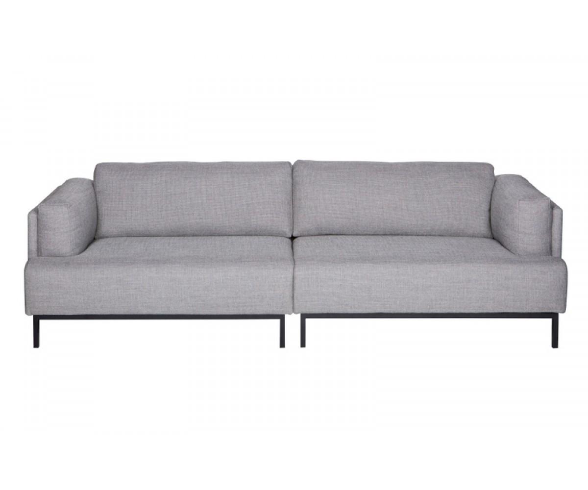 Sofa 3-Sitzer Grau, Sofa Modern Grau, Breite 250 Cm