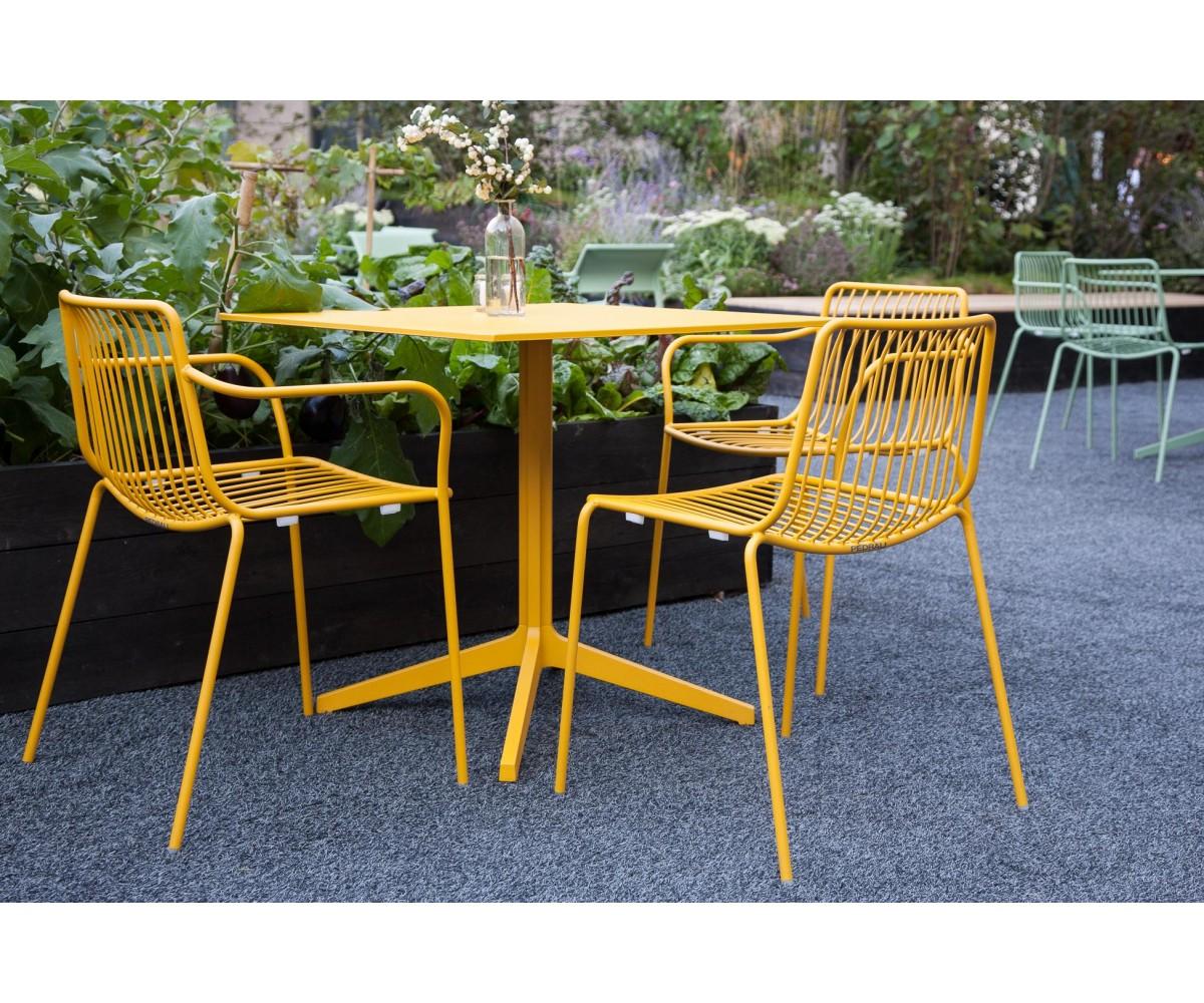 Gartenstuhl metall gelb stuhl gelb metall stapelbar - Outdoor stuhle stapelbar ...
