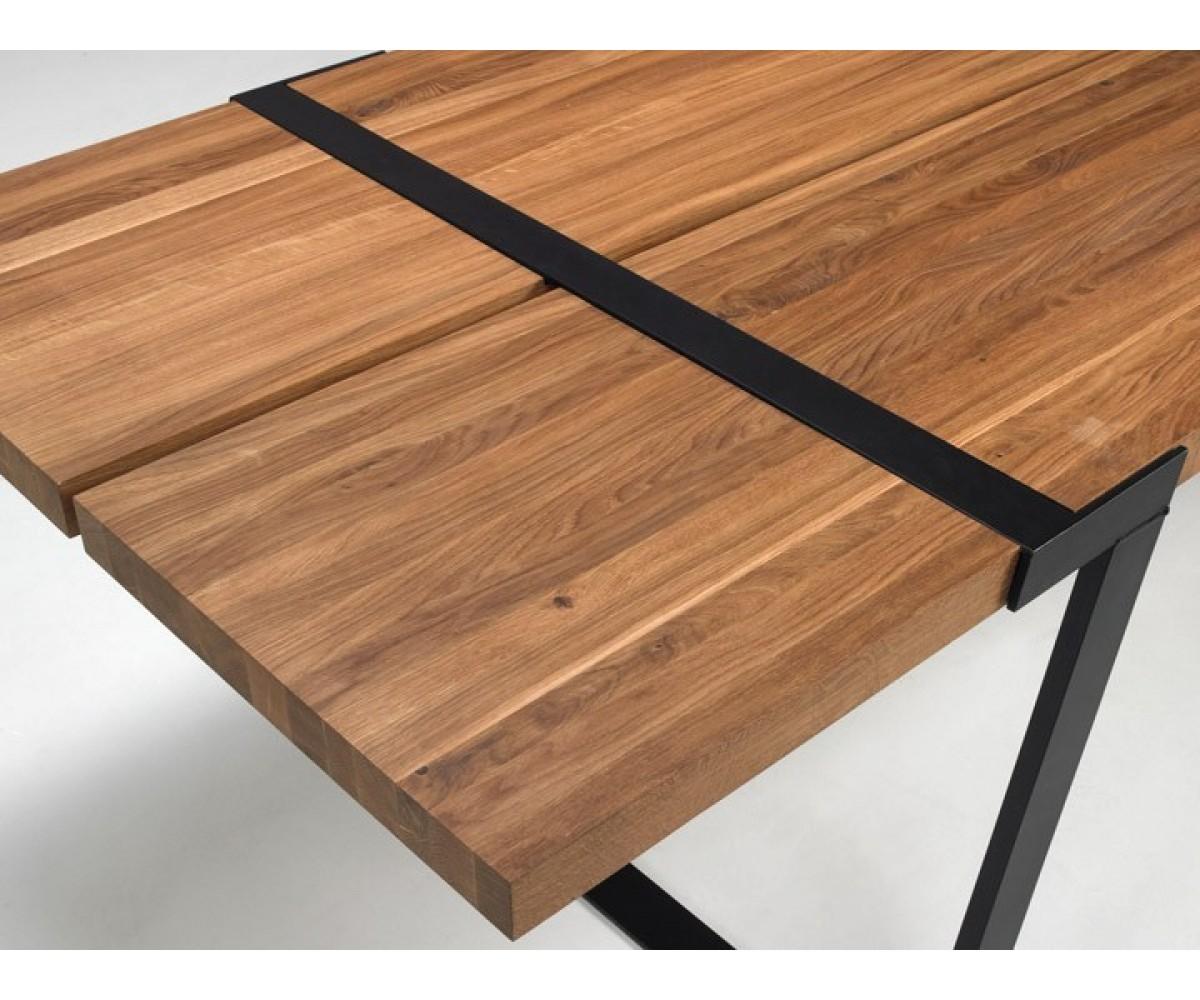 Esstisch Eiche-Natur Tischplatte Eiche Massiv, Tisch Eiche