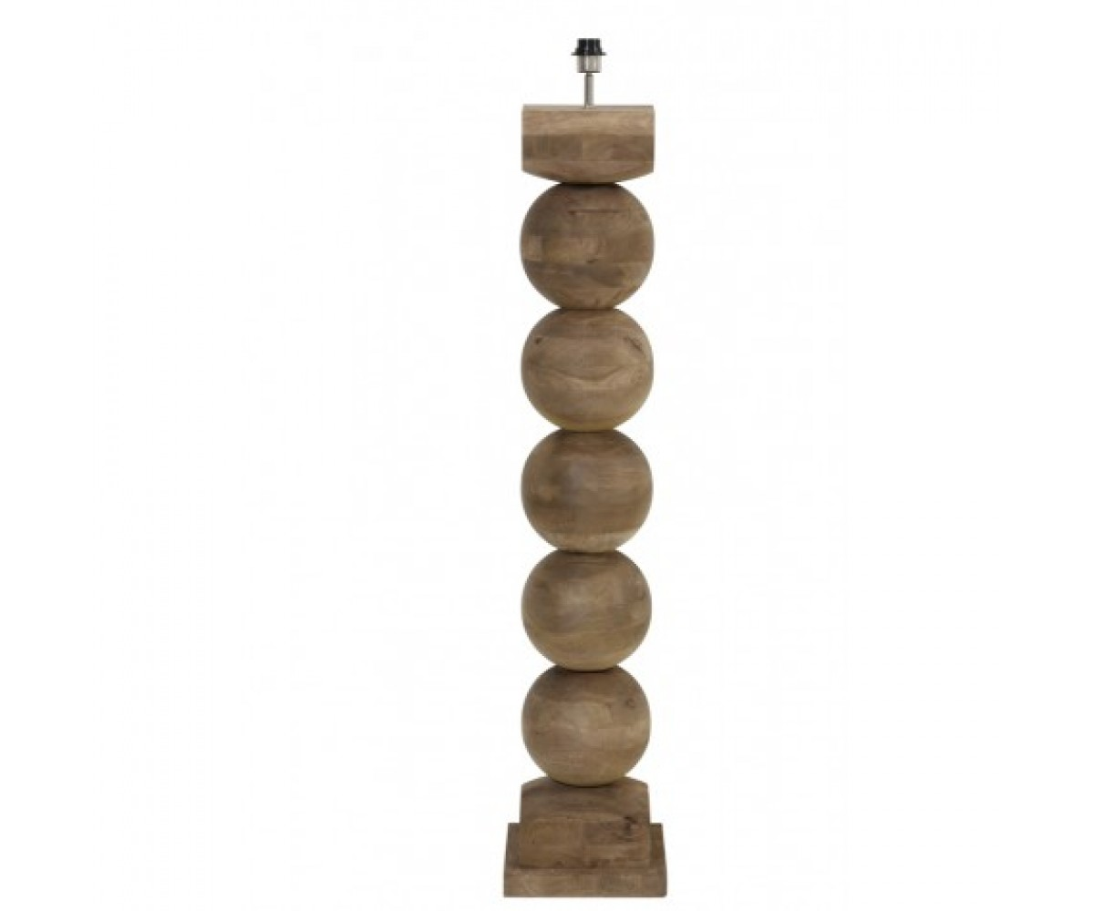 Künstlerisch Holz Stehleuchte Galerie Von