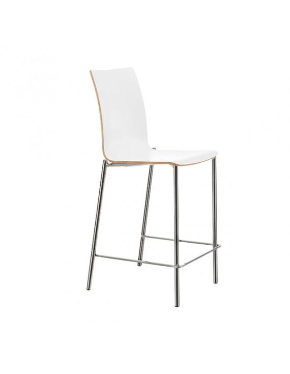 Barstuhl stapelbar in verschiedenen  Farben, Sitzhöhe 65 cm