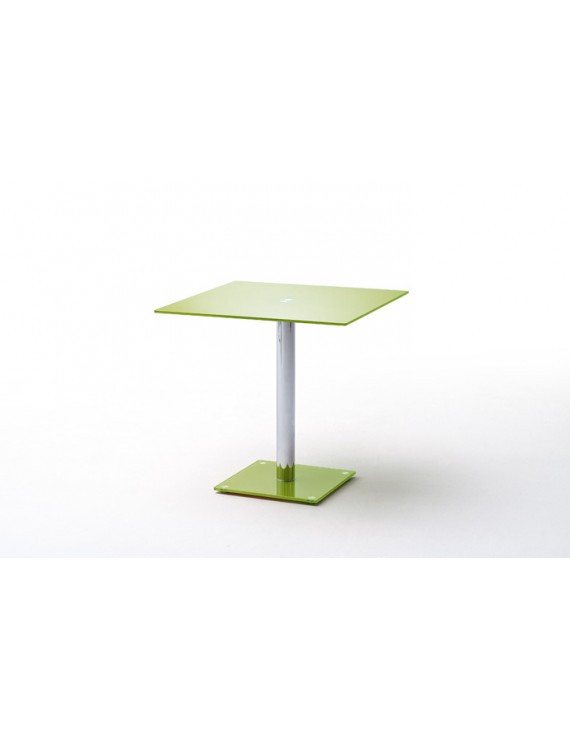 tisch glasplatte glastisch gr n bistrotisch glasplatte ma e 80 x 80 cm. Black Bedroom Furniture Sets. Home Design Ideas