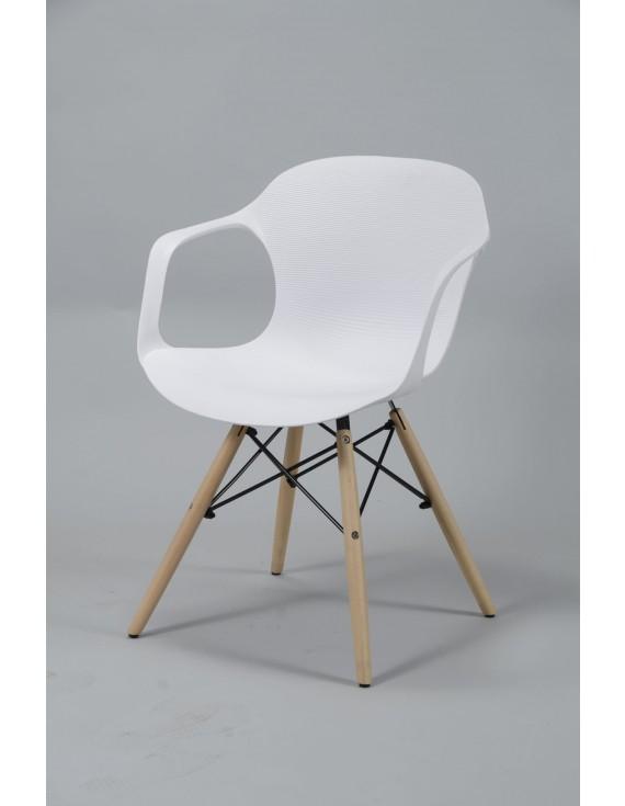 Holz Weiß DesignKunststoff Stuhl Weiß DesignKunststoff Stuhl Holz Stuhl IY6v7fybg