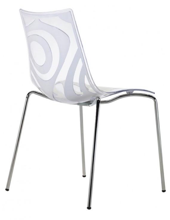 Design stuhl leinen stapelbar stuhl leinen transparent for Stuhl transparent design