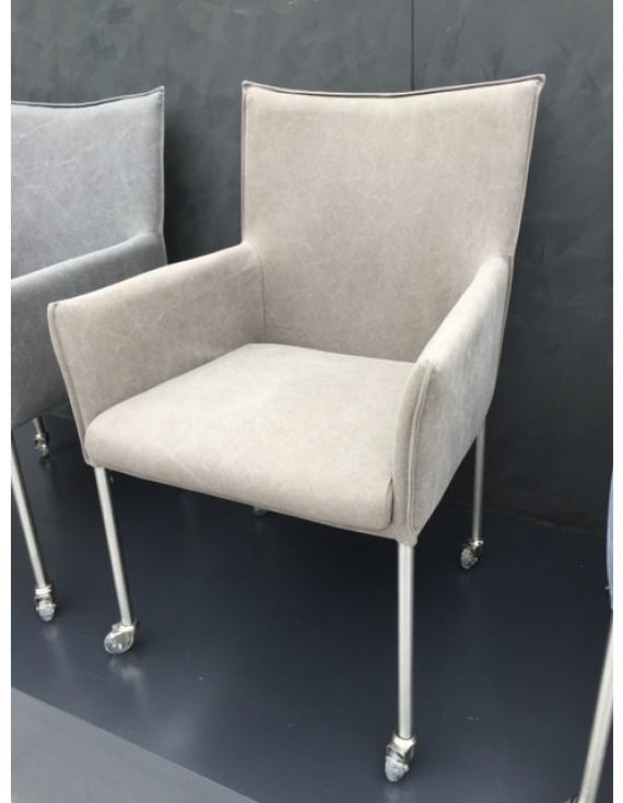 Stuhl auf Rollen Stuhl mit Armlehne auf Rollen