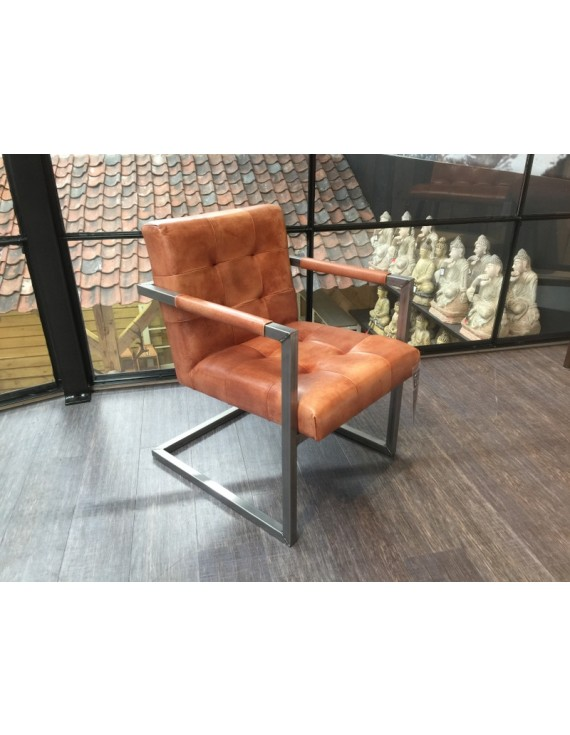 stuhl braun leder stuhl echtleder gepolstert leder stuhl. Black Bedroom Furniture Sets. Home Design Ideas