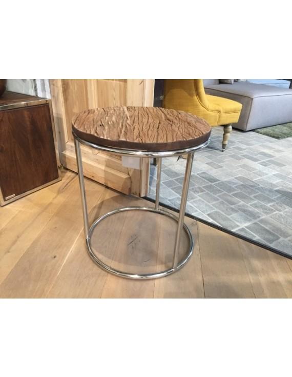 Tisch 50 Cm.Beistelltisch Rund Schwarz Beistelltisch Altholz Tisch