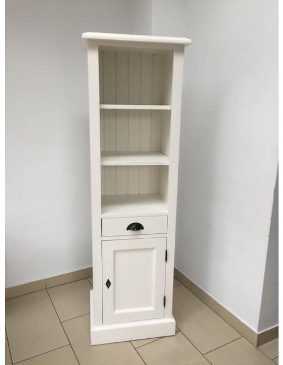 badezimmerschrank wei landhausstil regal wei landhaus schrank wei breite 49 cm. Black Bedroom Furniture Sets. Home Design Ideas