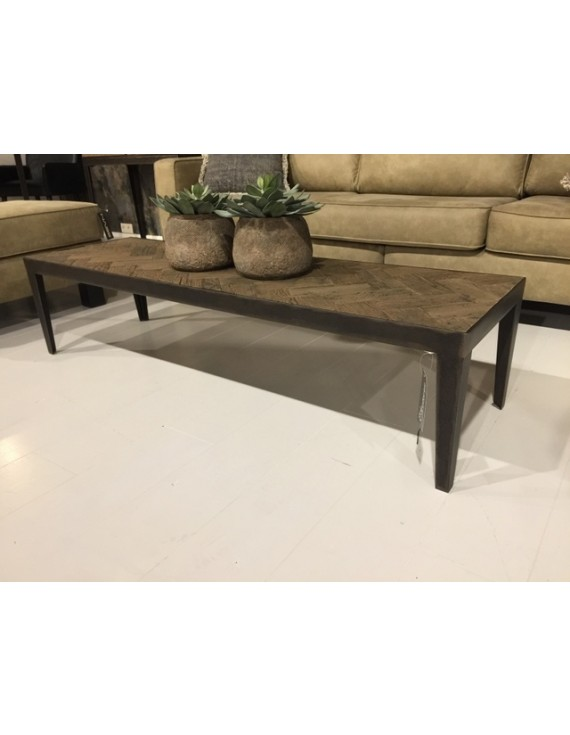 Couchtisch quadratisch Metall-Gestell, Tisch Metall ...