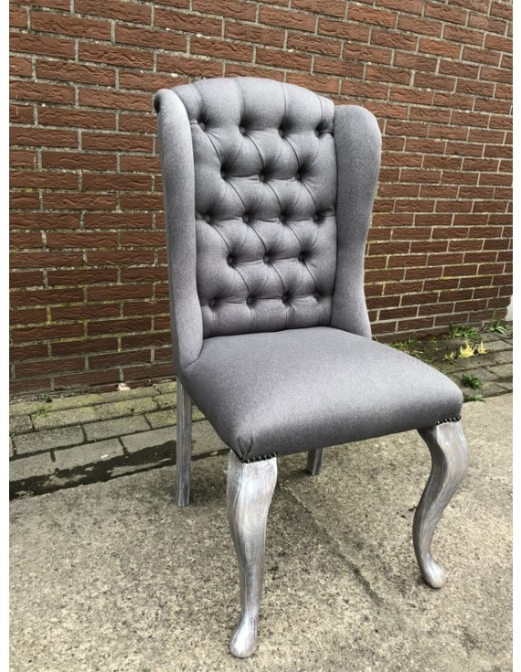 Stuhl Grau Gepolstert In Verschiedenen Farben Stuhl Mit Ring