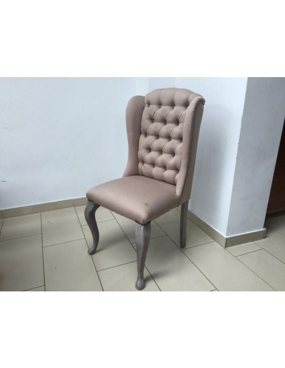 Stuhl taupe gepolstert in verschiedenen farben stuhl mit - Chesterfield stuhl ...