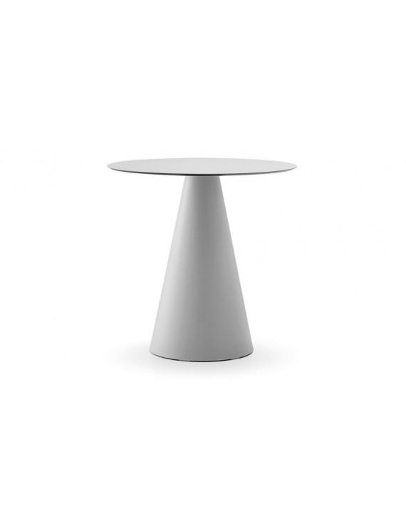 Tisch rund weiß , Esstisch rund weiß, Durchmesser 69 cm