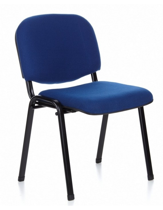 Besucherstuhl blau, Stuhl blau