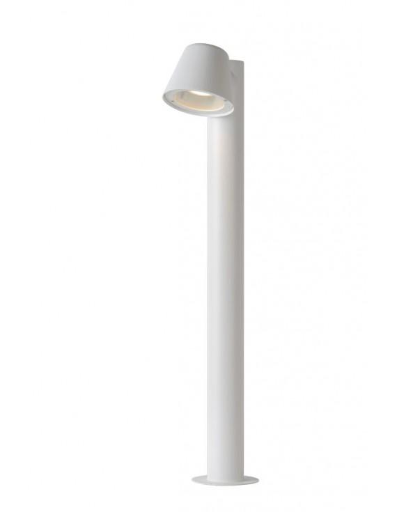 LED Stehleuchte schwarz, LED Außenleuchte weiß, LED Außenstehlampe weiß, Outdoor-Leuchte weiß