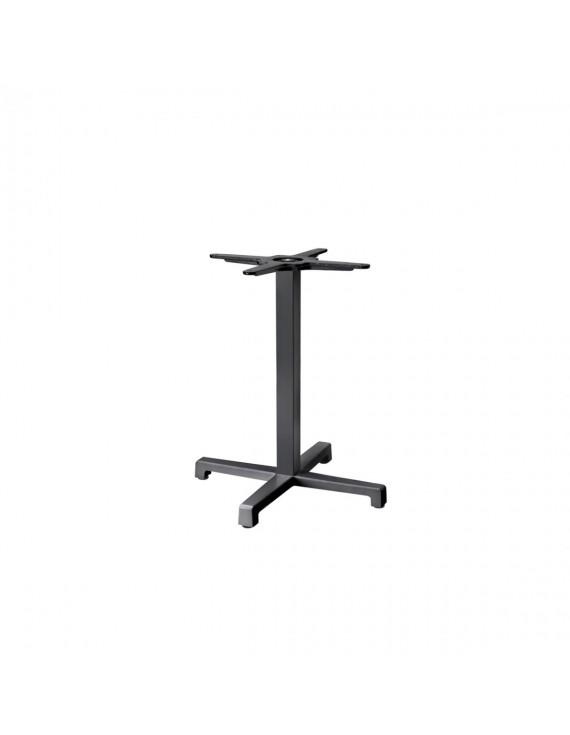 Bistrotischgestell anthrazit Metall, Tischgestell Metall, Metall-Gestell für Bistrotisch anthrazit , Höhe 50 cm