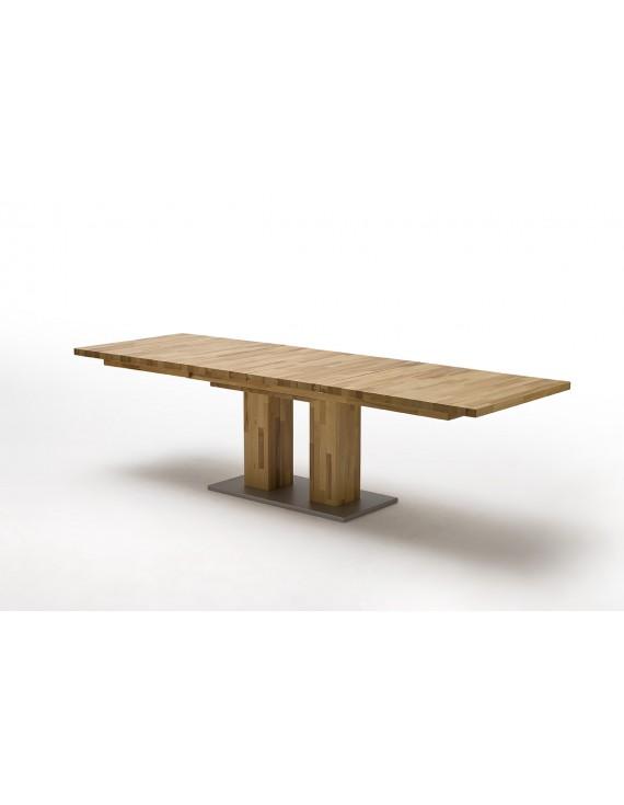 ausziehbarer esstisch massivholz tisch ausziehbar holz. Black Bedroom Furniture Sets. Home Design Ideas