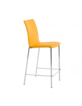 Barstuhl stapelbar, gepolstert  in verschiedenen  Farben Sitzhöhe 65 cm