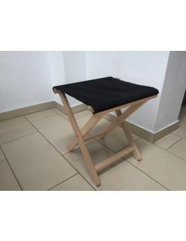 Hocker schwarz aufklappbar, Hocker Textil Holz