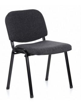 Besucherstuhl anthrazit-grau, Stuhl grau