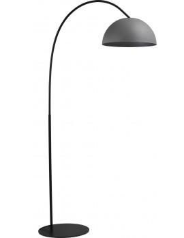 Stehleuchte grau-schwarz, Beton-look, Industrielampe/ Retro-style, Höhe 186 cm