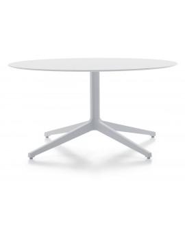 Tischfuß YPSILON 4 4795 H500, Bistrotisch-Gestell weiß, Tischfuß Pedrali