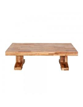 Couchtisch aus recyceltem Holz, BreitexTiefe 140x80 cm