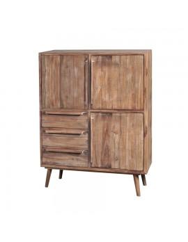 Kommode/Schrank mit 3 Türen und 3 Schubladen, Breite 104,5 cm