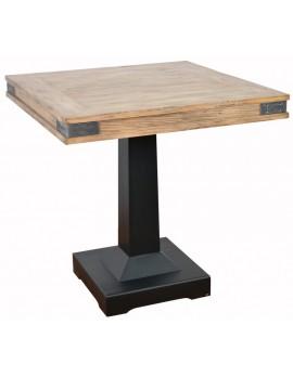 Bistrotisch Industrie, Tisch Metall Holz