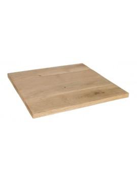 Tischplatte Eiche massiv, Tischplatte rechteckig Eiche, Maße 140x80 cm