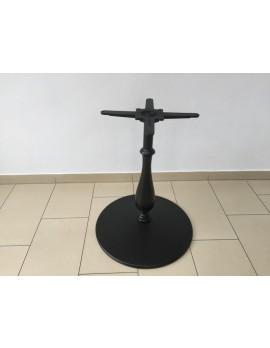 Tischgestell schwarz Barock, Tischfuß schwarz, Fuß Bistrotisch schwarz, Durchmesser 60 cm