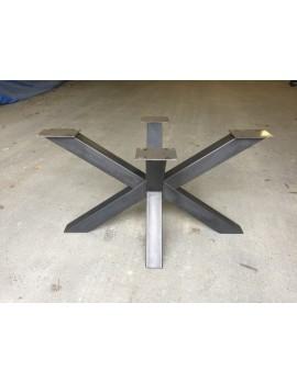 Tischgestell Metall Industriedesign, Tischgestell grau Industrie Metall, Breite 140 cm